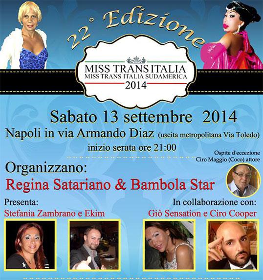 Miss trans italia 2014 info